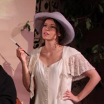 Mimi West as Lady Caroline Dester in the musical Enchanted April