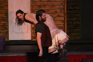 Jigger abducts Carrie in Carousel